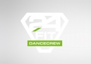 Logo 24 fit dance crew