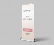 Yessica - roll-up banner